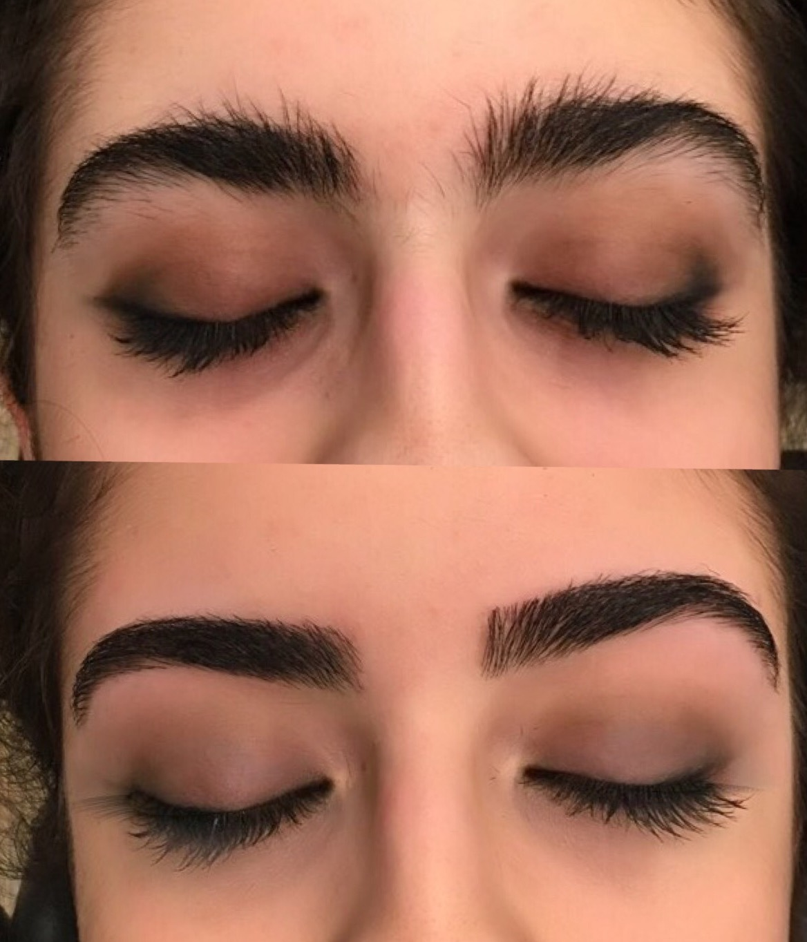 eyebrow shaping. eyebrow shaping s